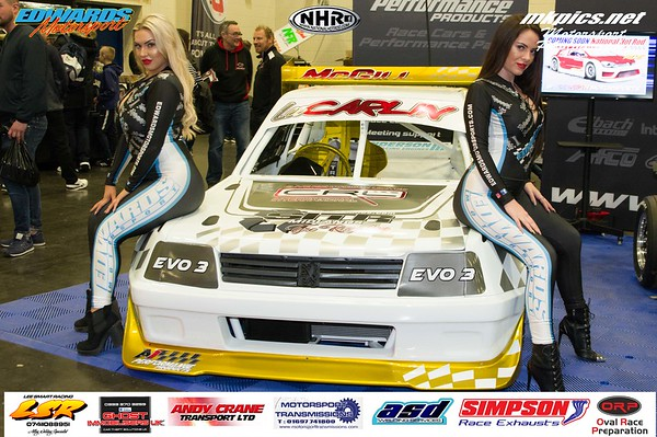 Edwards Motorsport Grid Girls at MWA
