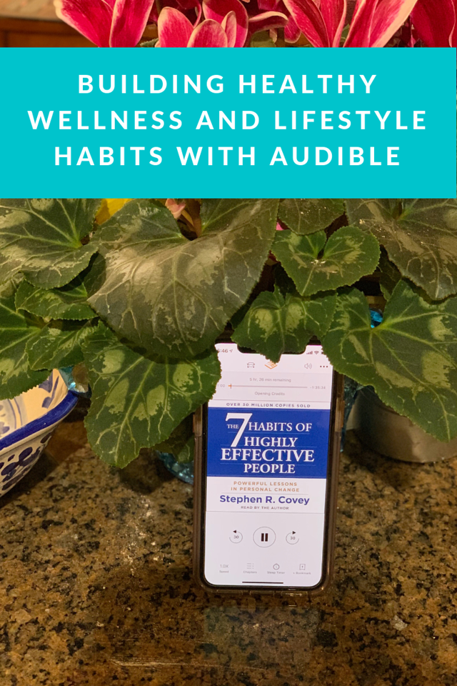 Did you know that Audible can help you on your wellness and lifestyle journeys for 2019? Here's what we love #ad #HealthyHabitsWithAudible#DoneWhileListening