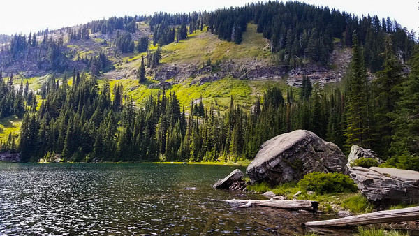 2018-08-06, Revette Lake Hike