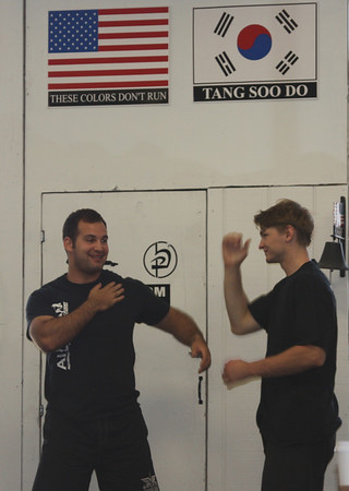 June 9, 2012 Krav Maga BB Test