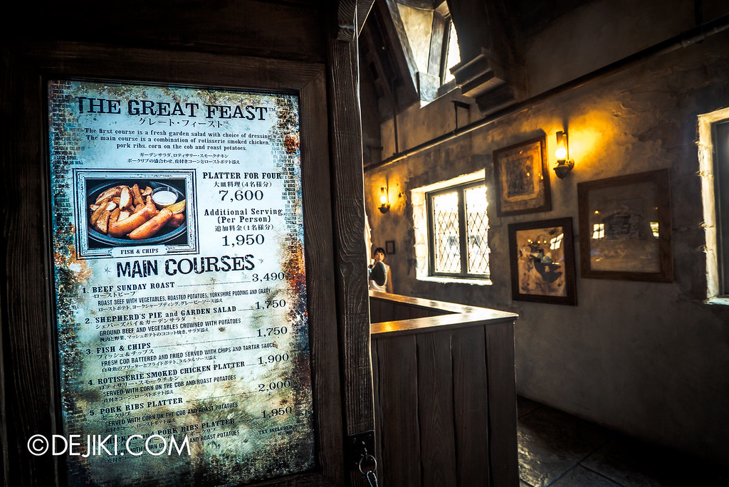 Universal Studios Japan - The Wizarding World of Harry Potter - Three Broomsticks