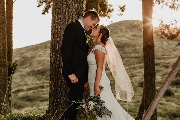 Chelsea + Mark - Black Barn Tuahiwi - Lake Tarawera Wedding