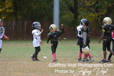 10-17-2015 Montgomery Village Sports Association Chiefs Tiny Mites vs Ridge Road Titans, Photos by Jeffrey Vogt Photography