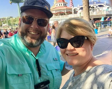 Disneyland 2016 Mike's 45th Birthday