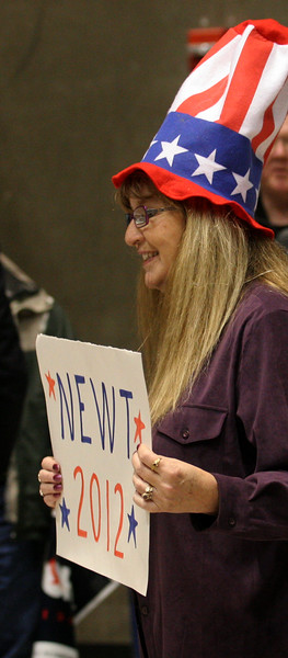Representing at the Idaho caucus in Boise.
