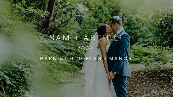 SAM + ARTHUR ////// BARN AT RIDGELAND MANOR