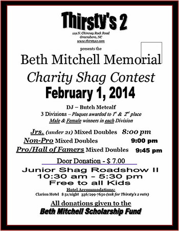 2014 Beth Mitchell Mixed Doubles