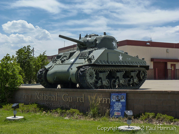 89th Troop Command, COARNG Armory - Denver - M4A3E9(75)