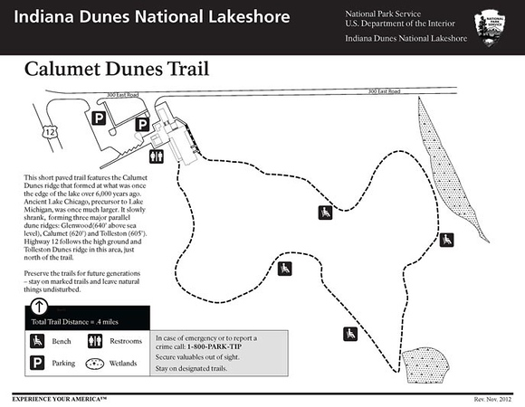 Indiana Dunes National Park (Calumet Dunes Trail)