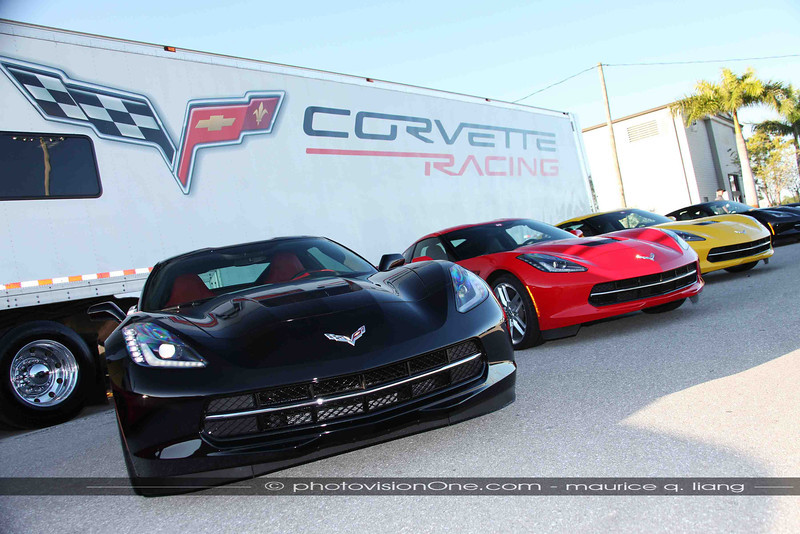 Some 60 Corvettes available for viewing and driving.