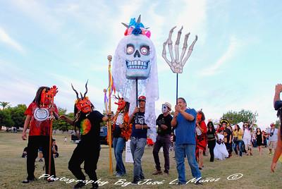 2013-10-27 Dia de los Muertos at Hance Park