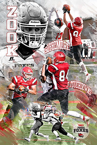 2021 Zook Football Poster