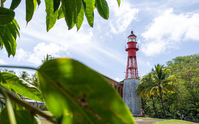 Devil's Island Lighthouse [French Guiana, South America]