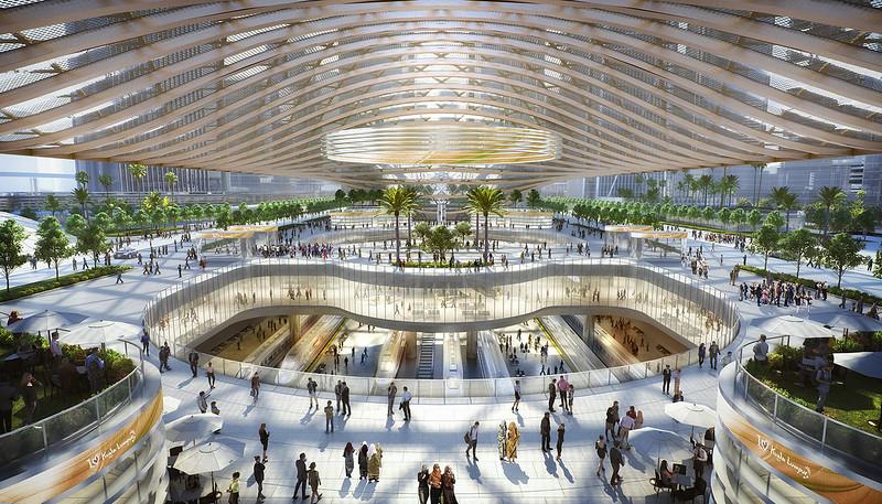 Bandar Malaysia Station Interior