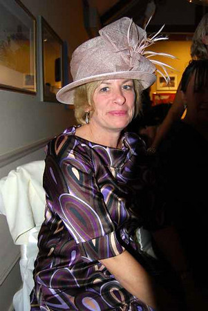 Rowe-Speers wedding-Wedding reception-Hats