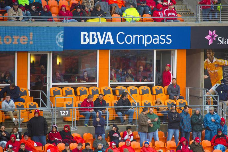 Box seats in BBVA Compass Stadium