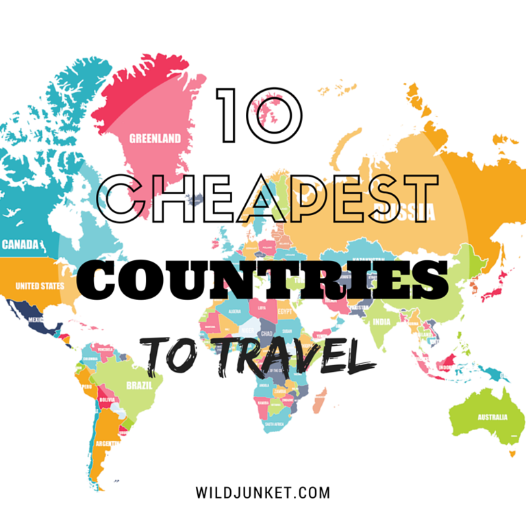 cheapest countries to travel