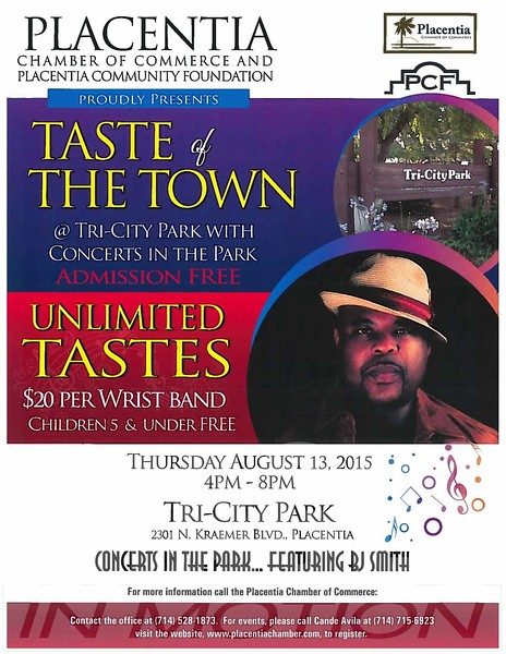 Taste of The Town 2015