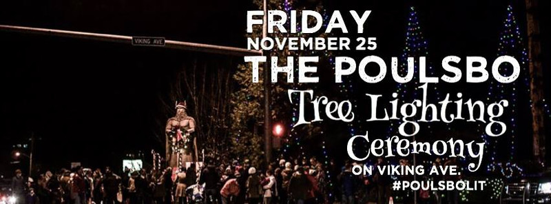 Poulsbo Tree Lighting 2016