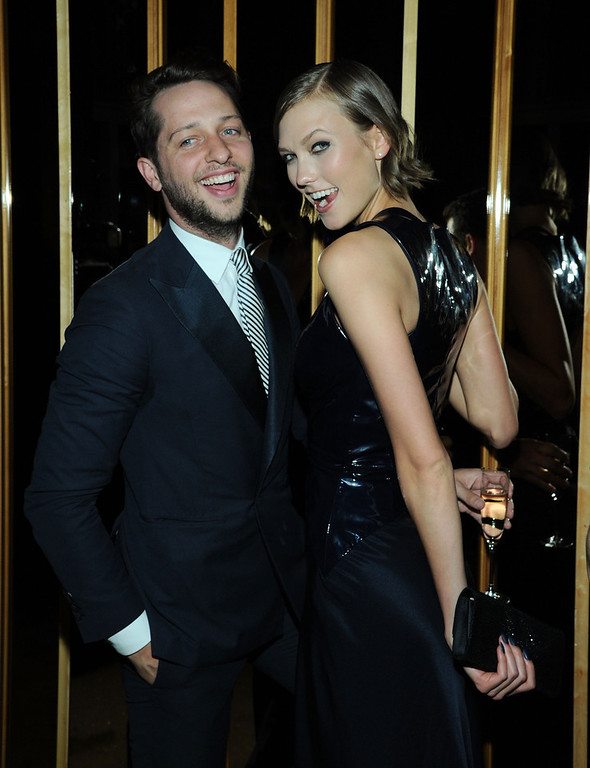 . Derek Blasberg and Karlie Kloss attend the 2013 CFDA Fashion Awards Official After Party Hosted By Swarovski on June 3, 2013 in New York, United States.  (Photo by Ilya S. Savenok/Getty Images)