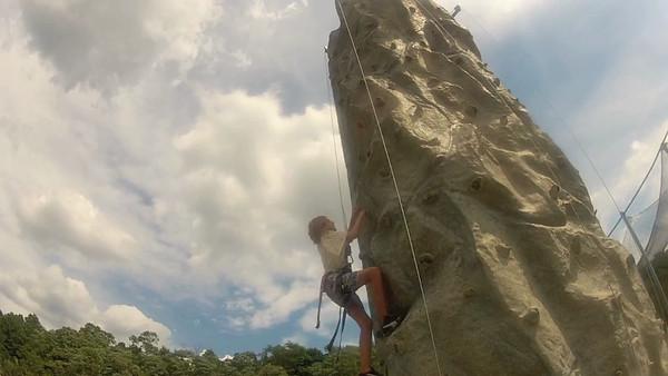 Climbing Wall 8-15-12