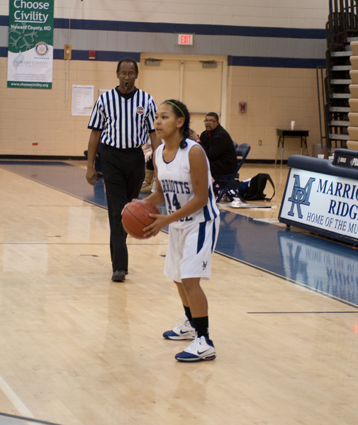 Marriotts Ridge Girls Basketball 2010