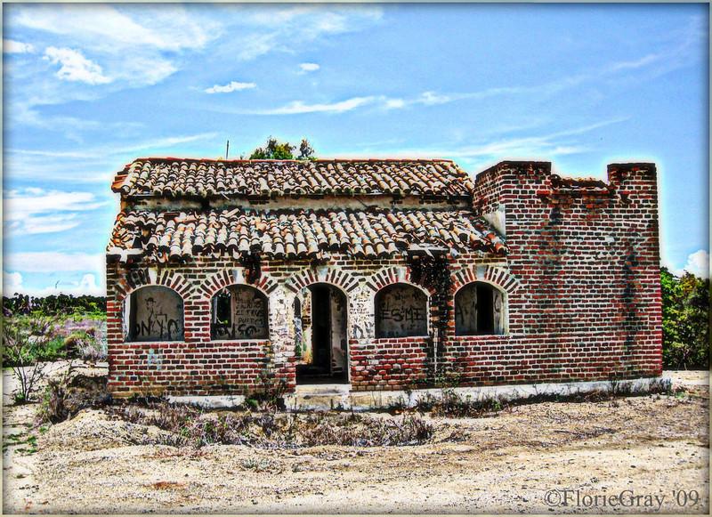 Roadtrip, Baja California Sur.  Abandoned Sugar Cane Plantation; Todos Santos, Mexico.