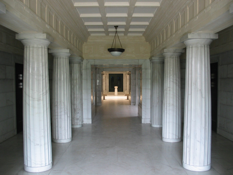 Original mausoleum entrance
