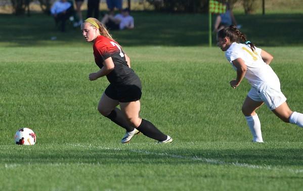 Varsity Girls Soccer:  GA vs Peddie