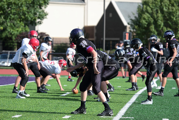 CHCA 2015 7th Gr Football vs Indian Hill 08.20