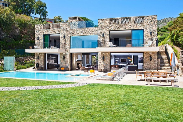 Stone Malibu Mansion
