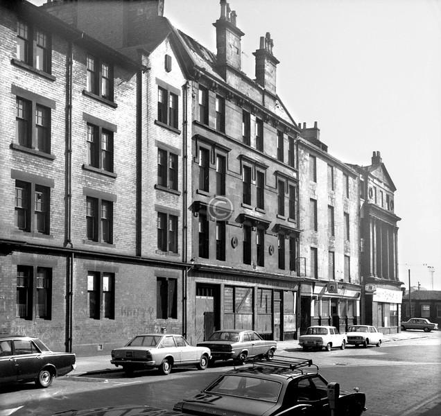 College St, north side.   September 1973