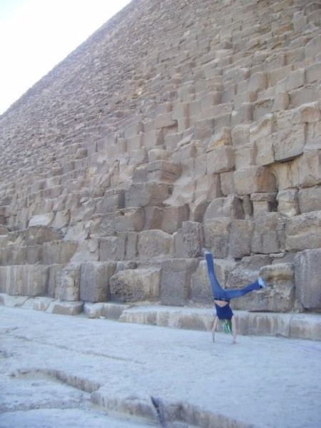 Kristin Weiss - The Great Pyramids - Giza - Egypt - December