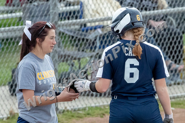 2019 05 09 Clarkston Varsity Softball vs Adams