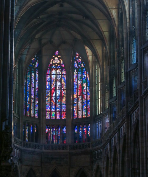 Southern Window, St. Vitus Cathedral.