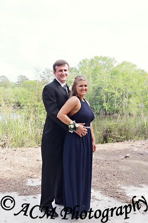 Haley & CJ Prom 2017