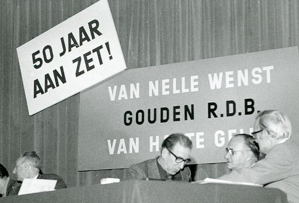 Van Nelle 50 jaar RDB