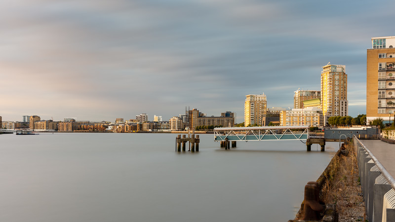 River Thames in East London