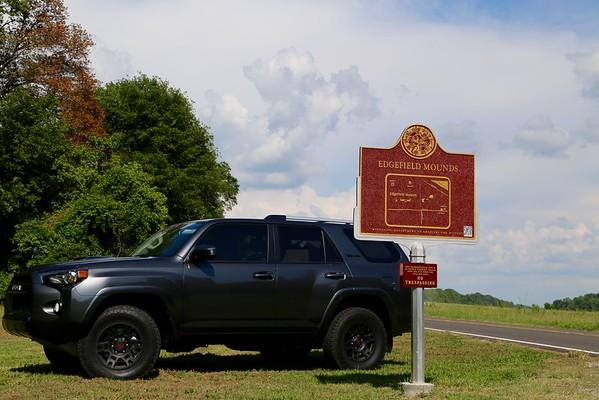 Mississippi Mound Trail stops 1-7