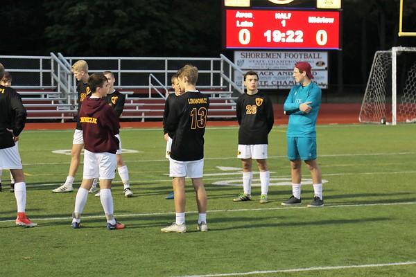 Avon Lake Boys Soccer Senior Night
