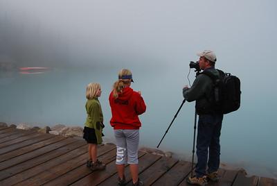 Lake Louise on Saturday