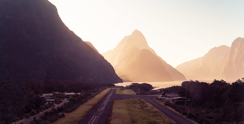 The Airport in Milford Sound
