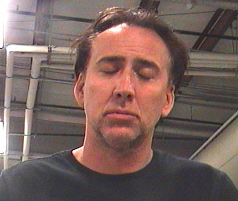 . This April 16, 2011 file booking photo released by Orleans Parish Sheriff\'s Office shows actor Nicolas Cage in New Orleans. New Orleans police say Cage was arrested in the French Quarter after he grabbed his wife\'s arm and pounded on cars in a drunken argument. He was booked with domestic abuse, disturbing the peace and public drunkenness. Attorney Harry Rosenberg said Friday, May 6, 2011 that the Orleans Parish district attorney\'s office refused the charges and no prosecution would occur. (AP Photo/Orleans Parish Sheriff\'s Office, File)