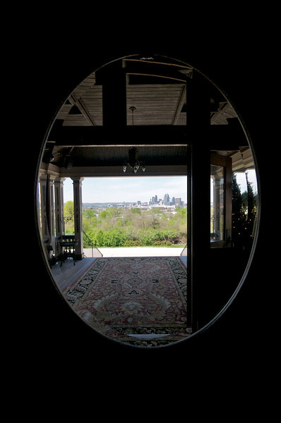 Wiedemann Hill Mansion - view as you exit front entrance