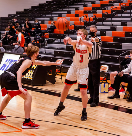 2/25/21 Boys Varsity Basketball over Highland