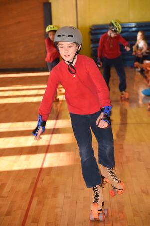 Grade 5 roller skating