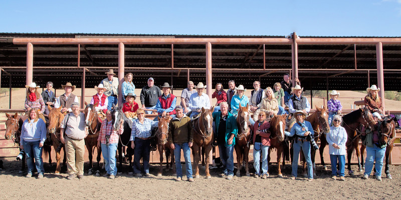 The whole Muench Workshops Group and all the cowboys, cowgirls and horses that helped make this workshop so much fun.