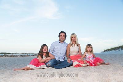 The Smith Family Panama City Beach 2015