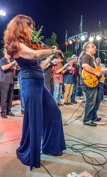 Scarlet Rivera-Salute to the Music of Bob Dylan 2014-Wolfe Park, St. Louis Park