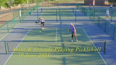 2021-06-10 Anita & Friends Playing Pickleball